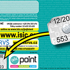 The sale of revalidation stickers ISIC 12/2022