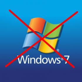 Ukončení podpory Windows 7 k 14.1.2020