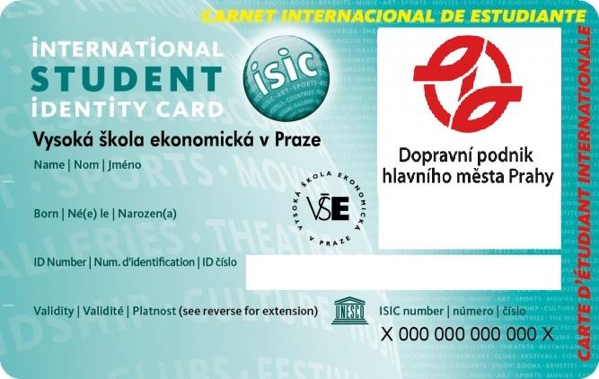 Akceptace průkazu ISIC v MHD / ISIC card in public transport