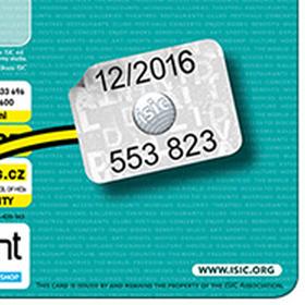 Revalidační známky na ISIC